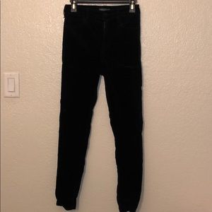 Kendal & Kylie Velvet high rise denim